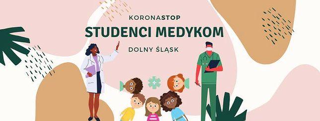 Wrocław. Koronawirus. Studenci z Dolnego Śląska pomagają służbie zdrowia