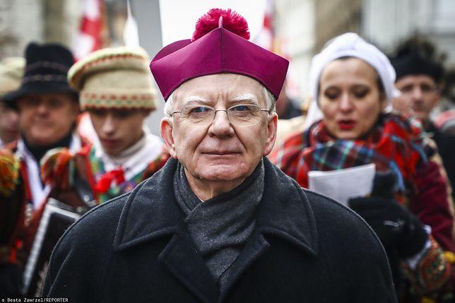 Abp Marek Jędraszewski na Orszaku Trzech Króli w Krakowie