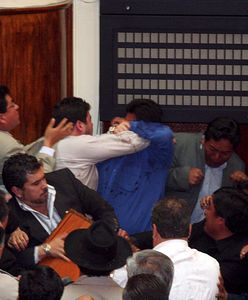 Boliwia. Posłowie pobili się w czasie obrad