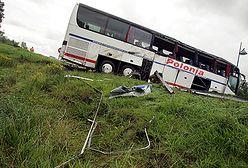 Kierowca polskiego autokaru został przesłuchany i zwolniony