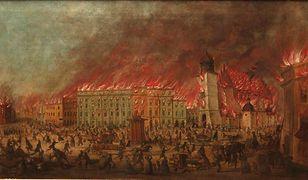 Ostatni wielki pożar Krakowa. Spłonęła ogromna część miasta, w tym najcenniejsze zabytki