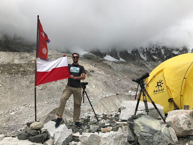 Szymon Jasina wybrał się w Himalaje przed sezonem turystycznym