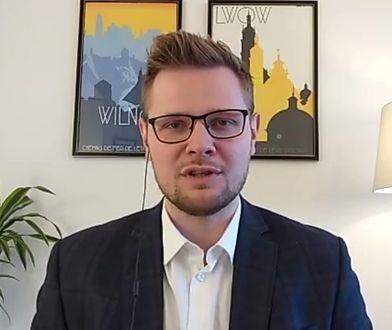 Michał Woś o propozycji Romana Giertycha: nie jest to najlepszy prawnik