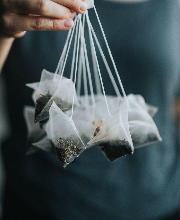 torebki z herbatą to jedno ze źródeł mikroplastiku