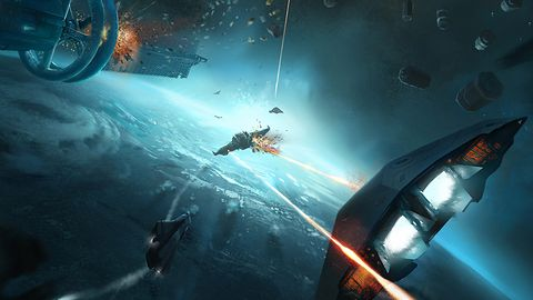 Nowy zwiastun Elite: Dangerous — Capital Ship Battle