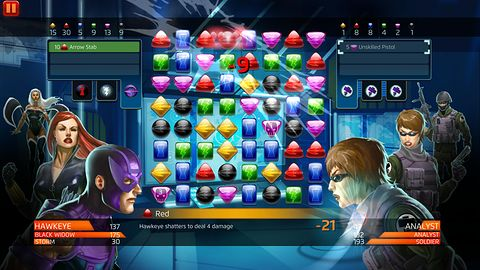 Marvel Puzzle Quest: Dark Reign na weekend