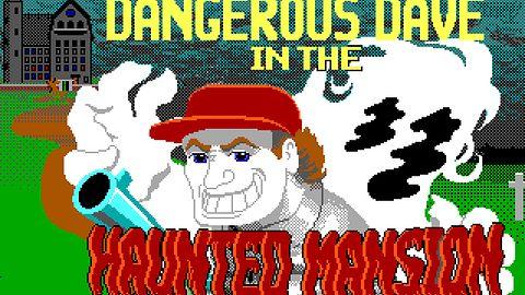 Dangerous Dave in the Haunted Mansion. Klasyczna platformówka twórców Quake'a