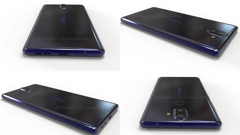 Nokia 9 bez minijacka, znów z podwójnym aparatem