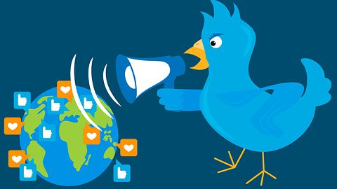 Twitter się rozwija. Żarty własnością intelektualną, słowo celebrytki prawem