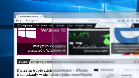 Problemy z wydajnością powodem braku rozmycia tła paska zadań w Windows 10