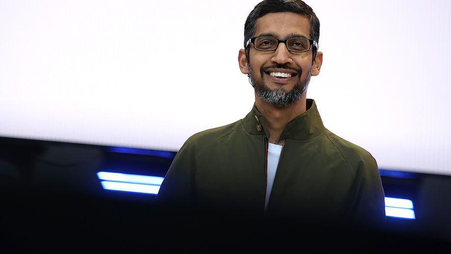 Sundar Pichai, dyrektor generalny Google.