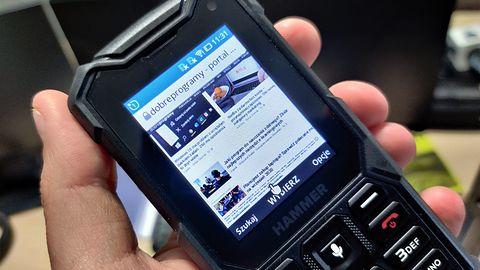 Hammer 5 Smart — wytrzymały telefon z systemem KaiOS