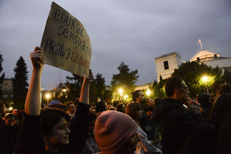 Strajk kobiet. Były szef PZPN mocno uderza w protestujących