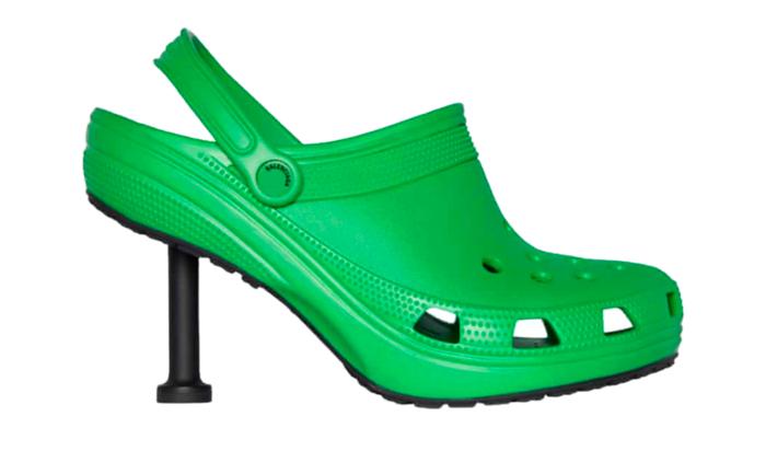 Crocsy na szpilkach