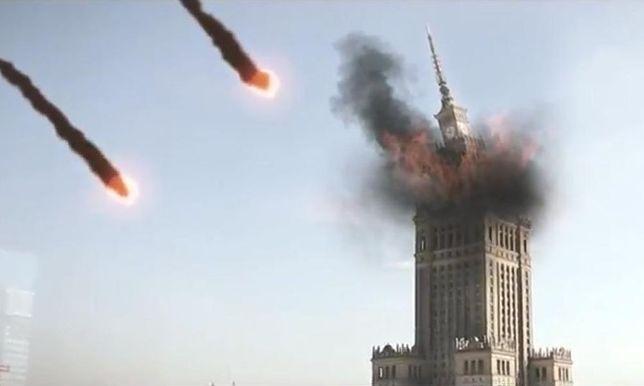 Meteoryty spadły na Warszawę!