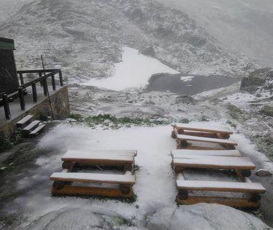 Jakie lato? W Zakopanem spadł śnieg!