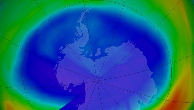 Dziura ozonowa najmniejsza od 1988 roku. To dobra i zła wiadomość
