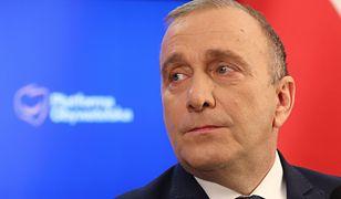 Wybory prezydenckie. Grzegorz Schetyna mówił o dalszych planach na politykę.