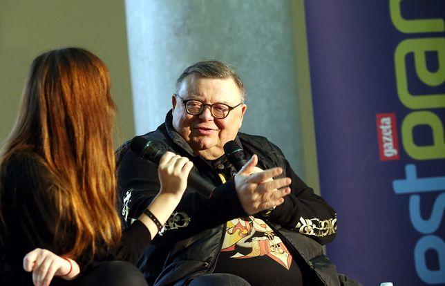 Wojciech Mann wywołał oburzenie prawicy opiniami na temat PiS i wyborców tej partii.