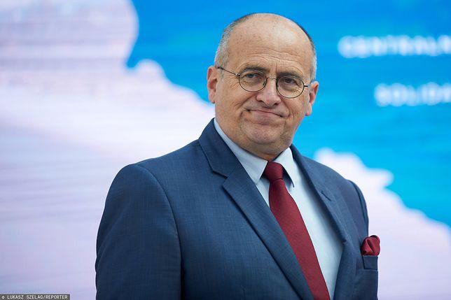 Zbigniew Rau - minister spraw zagranicznych