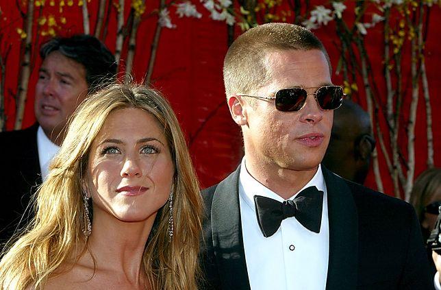 Jennifer Aniston i Brad Pitt ostatnio znowu się do siebie zbliżyli