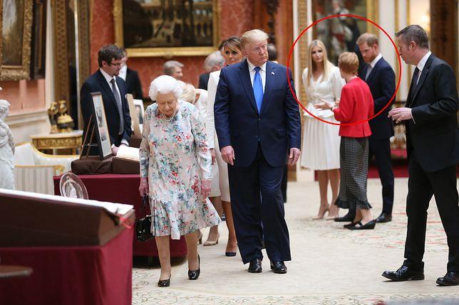 Harry wyraźnie unikał prezydenta USA.