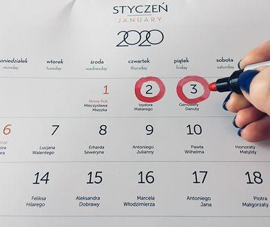 W 2020 r. będzie mniej dni wolnych od pracy, niż w 2019 r.