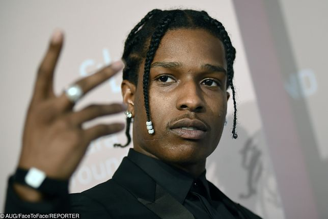 ASAP Rocky zostaje w areszcie. Raper oskarżony o napaść