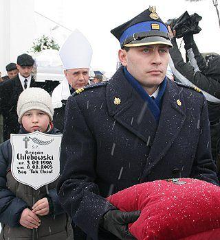 Pogrzeb 7-letniego bohatera