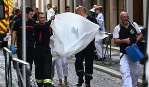 Francja. Eksplozja na deptaku w Lyonie