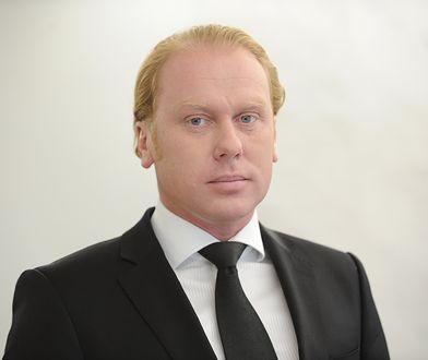 41-letni senator PiS Grzegorz Peczkis.