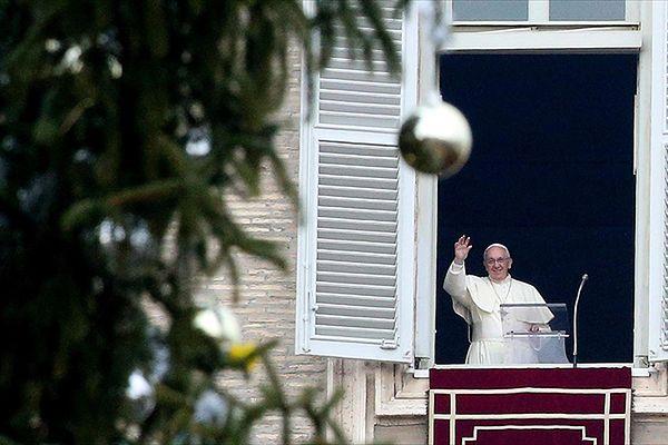 Pierwsze Boże Narodzenie papieża Franciszka