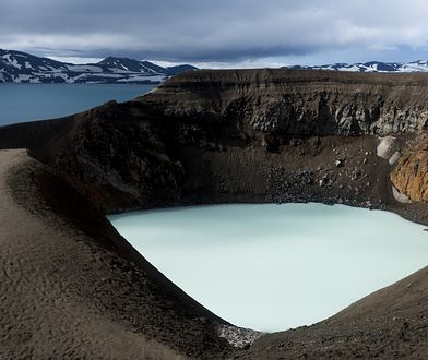 Kaldera Askja na Islandii
