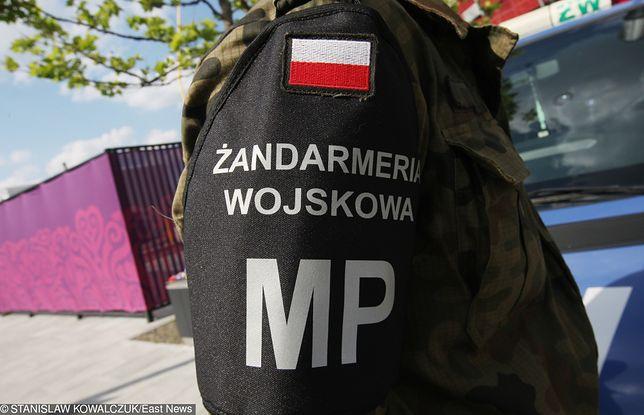 Żołnierz z radomskiej jednostki sam zgłosił się na policję