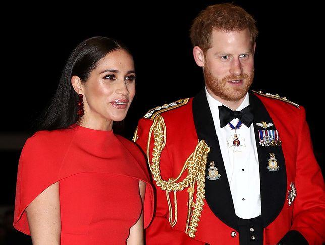 Meghan Markle i książę Harry zaprezentowali się w nietypowej roli