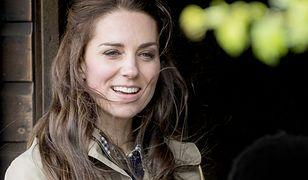 Kate Middleton na farmie w hrabstwie Gloucestershire
