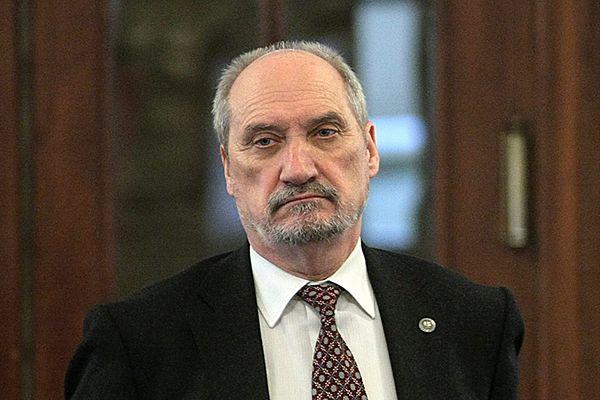 Poseł Prawa i Sprawiedliwości Antoni Macierewicz