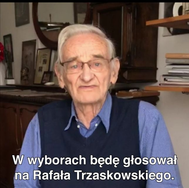 Wybory 2020. Syn rotmistrza Witolda Pileckiego, Andrzej Pilecki, popiera Rafała Trzaskowskiego