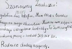 Warszawa. Poruszający apel o pomoc w znalezieniu telefonu
