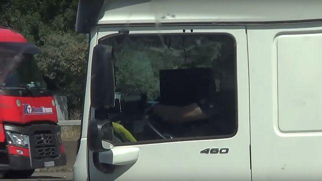 Polak bohaterem nagrania policji w Kent. Funkcjonariusze obserwowali kierowców ciężarówek