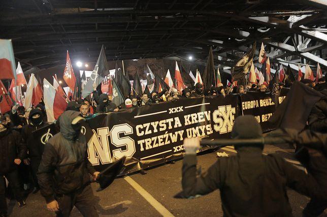 Marsz Niepodległości. Nie ma zarzutów za rasistowskie hasła