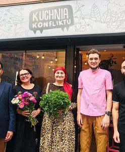 Warszawa. Kuchnia Konfliktu pragnie pokoju. Incydent w wielokulturowym bistro