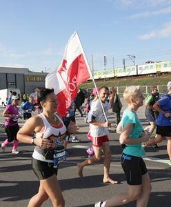 Maratończycy na ulicach Warszawy [GALERIA]