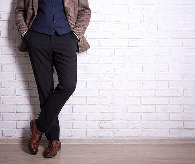 Jak dobrać spodnie męskie do figury?