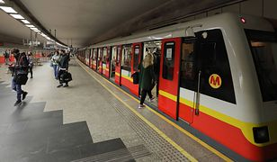 Metro Warszawskie. Utrudnienia w kursowaniu linii M1