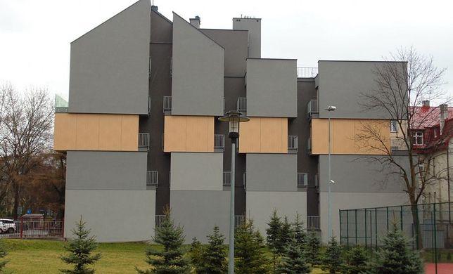 Apartamentowiec w Krakowie z oryginalnym widokiem z balkonów.