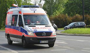 Wypadek w Sosnowcu. Dwie nastolatki wypadły z drugiego piętra
