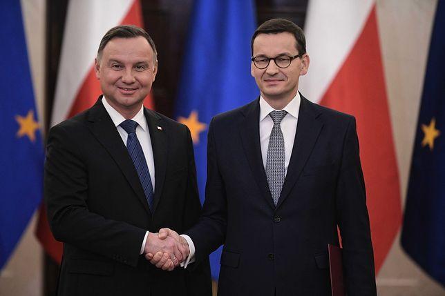 Andrzej Duda powoła rząd Mateusza Morawieckiego