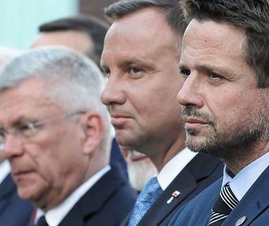 Andrzej Duda i Rafał Trzaskowski / fot. Paweł Supernak