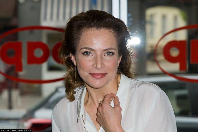 Anna Dereszowska cieszy się w pełni swoim urlopem